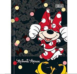 Caderno Broc Cd 1/4 80f Minnie - Tilibra