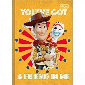 Caderno Broc Cd 1/4 80f Toy Story - Tilibra