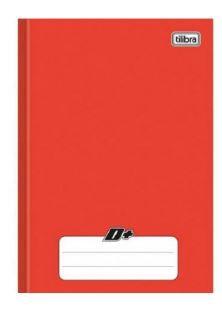 Caderno Broc Cd 1/4 96f D+ Vermelho - Tilibra