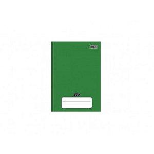 Caderno Broc Cd 1/4 48f D+ Verde - Tilibra