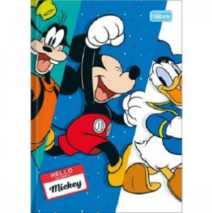 Caderno Broc Cd 1/4 48f Mickey Mouse - Tilibra