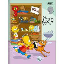 Caderno Broc Cd 1m 48f The Simpsons - Tilibra