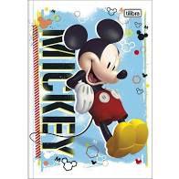 Caderno Broc Cd 1m 80f Mickey - Tilibra