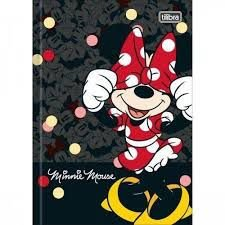 Caderno Broc Cd 1m 48f Minnie - Tilibra