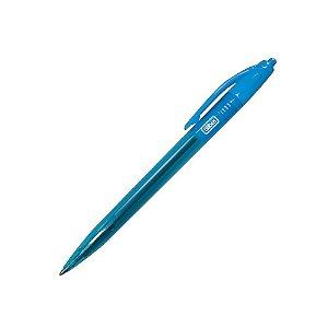 Caneta 1.0mm Max Neon Azul - Tilibra