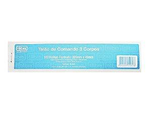 Talao De Comando 3 Corpos - Tilibra