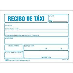 Bloco Recibo Taxi - Tilibra