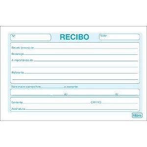 Bloco Recibo Comercial S/canhoto - Tilibra
