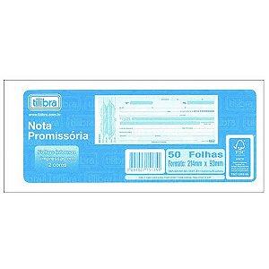 Bloco Nota Promissoria 215x94mm 50f - Tilibra