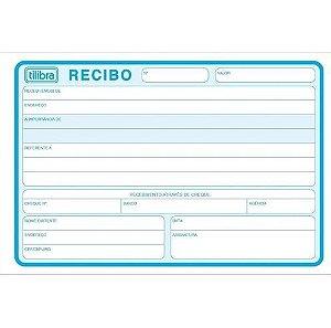 Bloco Recibo Comercial S/canhoto Grande - Tilibra