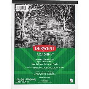 Bloco Papel 110g 24f Academy Preto - Derwent