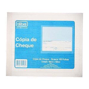 Copia De Cheque Branca C/100fls - Tilibra
