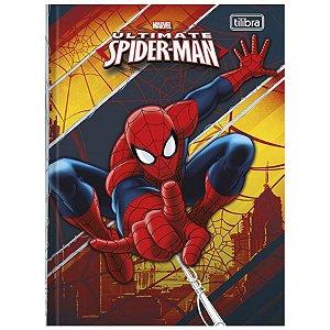 Caderno Esp Cd 96f Quadriculado Spider M- Tilibra