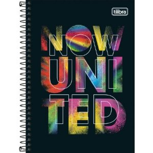 Caderno Esp Cd 1/4 80f Now Unite - Tilibra