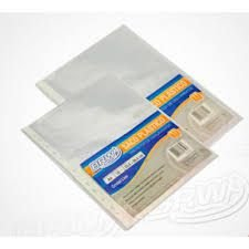 Saco Plastico C/10 11 Furos Formato A4 - Brw