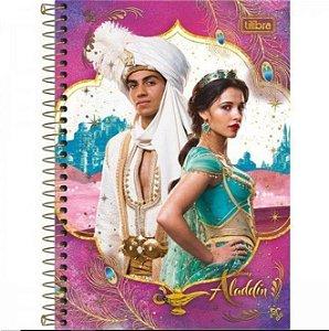 Caderno Esp Cd 1/4 80f Aladdin - Tilibra
