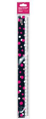 Regua 30cm Love Pink - Tilibra