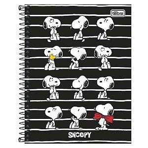 Caderno Esp Cd Coleg 10m 160f Snoopy Vtg - Tilibra