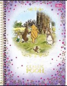 Caderno Esp Cd Univ 1m 96f Pooh Classic - Tilibra