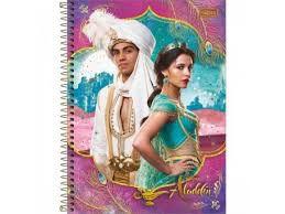 Caderno Esp Cd Univ 1m 80f Aladdin - Tilibra