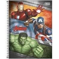 Caderno Esp Cd Univ 1m 80f Avengers Asb - Tilibra