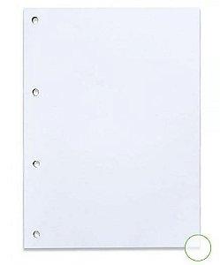 Bloco Fichario A4 90g 80f S/pauta Branco - Nali