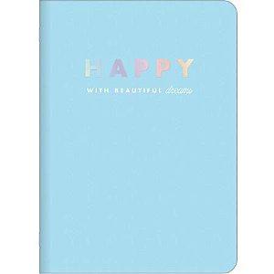 Caderno Gramp 32f Happy - Tilibra