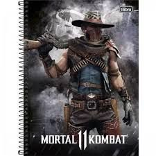 Caderno Esp Cd Univ 10m 160f Mortal Komb - Tilibra