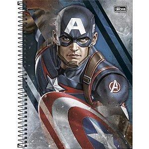 Caderno Esp Cd Univ 10m 160f Avengers Asb -tilibra