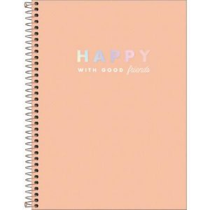 Caderno Esp Cd Univ 10m 160f Happy - Tilibra