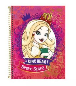 Caderno Esp Cd Univ 1m 96f Ever After High-tilibra