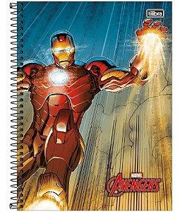 Caderno Esp Cd Univ 1m 96f Avengers Ass - Tilibra