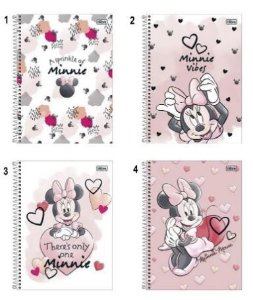 Caderno Esp Cd Univ 1m 80f Minnie Light - Tilibra