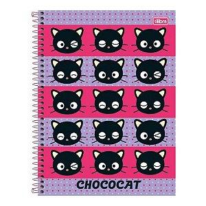 Caderno Esp Cd Univ 1m 96f Chococat - Tilibra