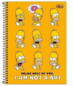 Caderno Esp Cd Univ 10m 160f Simpsons - Tilibra