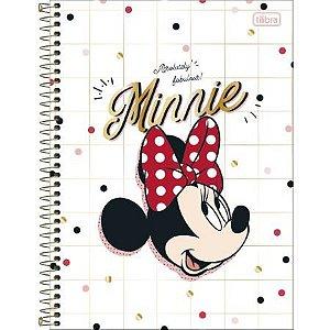 Caderno Esp Cd Univ 12m 192f Minnie - Tilibra