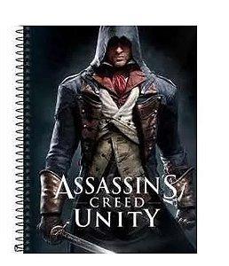 Caderno Esp Cd Univ 12m 192f Assassins Cr -tilibra