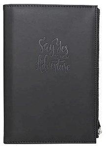 Caderno A5 80g 80f C/estojo Time Lapse Preto - Bee