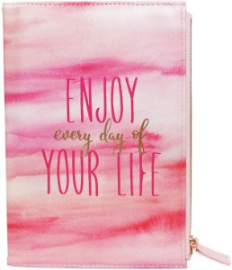 Caderno A5 80g 80f C/estojo Bloom Pink - Bee