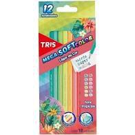Lapis De Cor Tons Tropicais C/12 - Tris