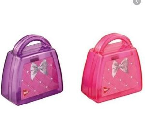 Apontador C/deposito Bolsa Barbie - Tris