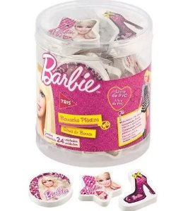 Borracha Plastica Top Barbie - Tris