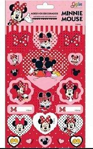 Adesivo Decorado Minnie E Mickey - Tilibra