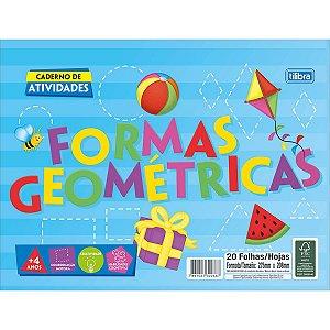 Caderno Cartilha 20f Forma Geometrica - Tilibra