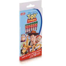 Lapis Cor 12 Cores Toy Story - Tris