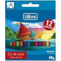 Giz De Cera C/12 Academie - Tilibra