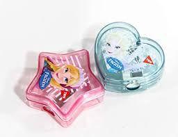 Apontador Esc C/deposito Frozen - Tris