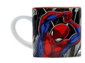 Caneca 300ml Cubo Spiderman - Zona