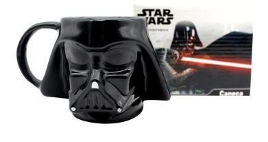 Caneca 500ml Formato 3d Star Wars Darth Vade- Zona