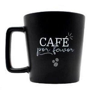 Caneca 400ml Cafe Por Favor- Zona